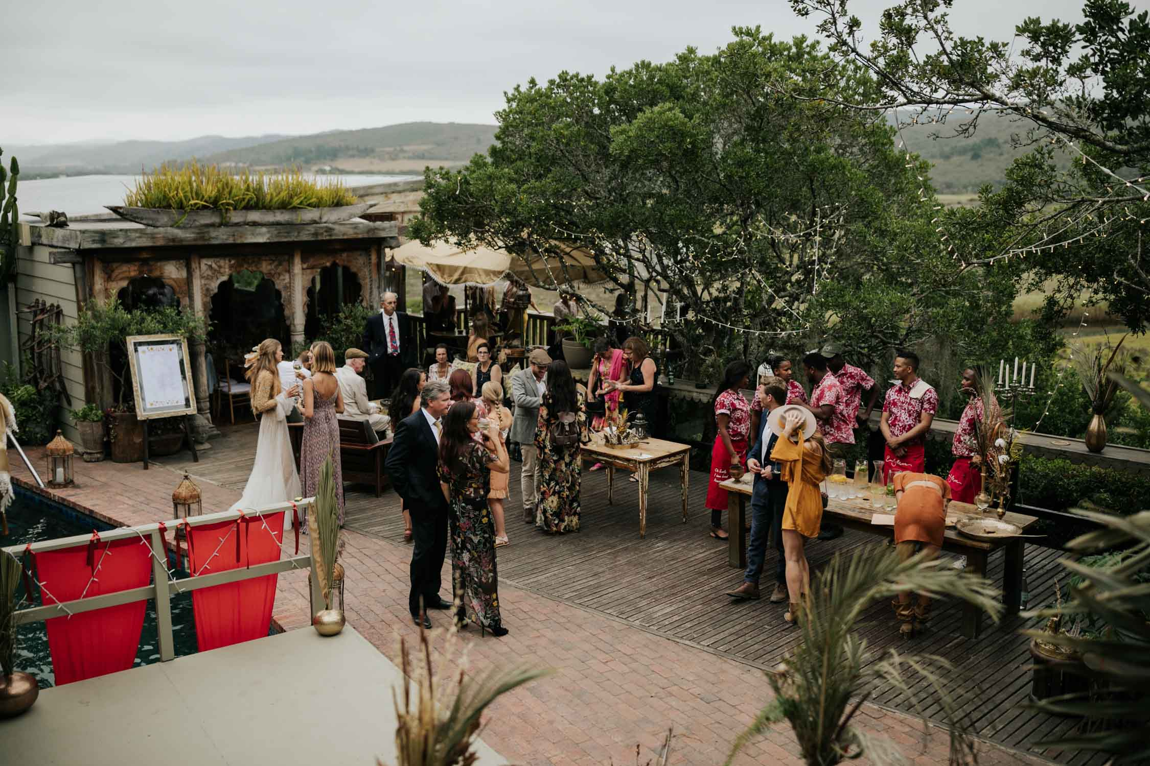 Emily Moon River Lodge wedding in Plett, Garden Route, South Africa