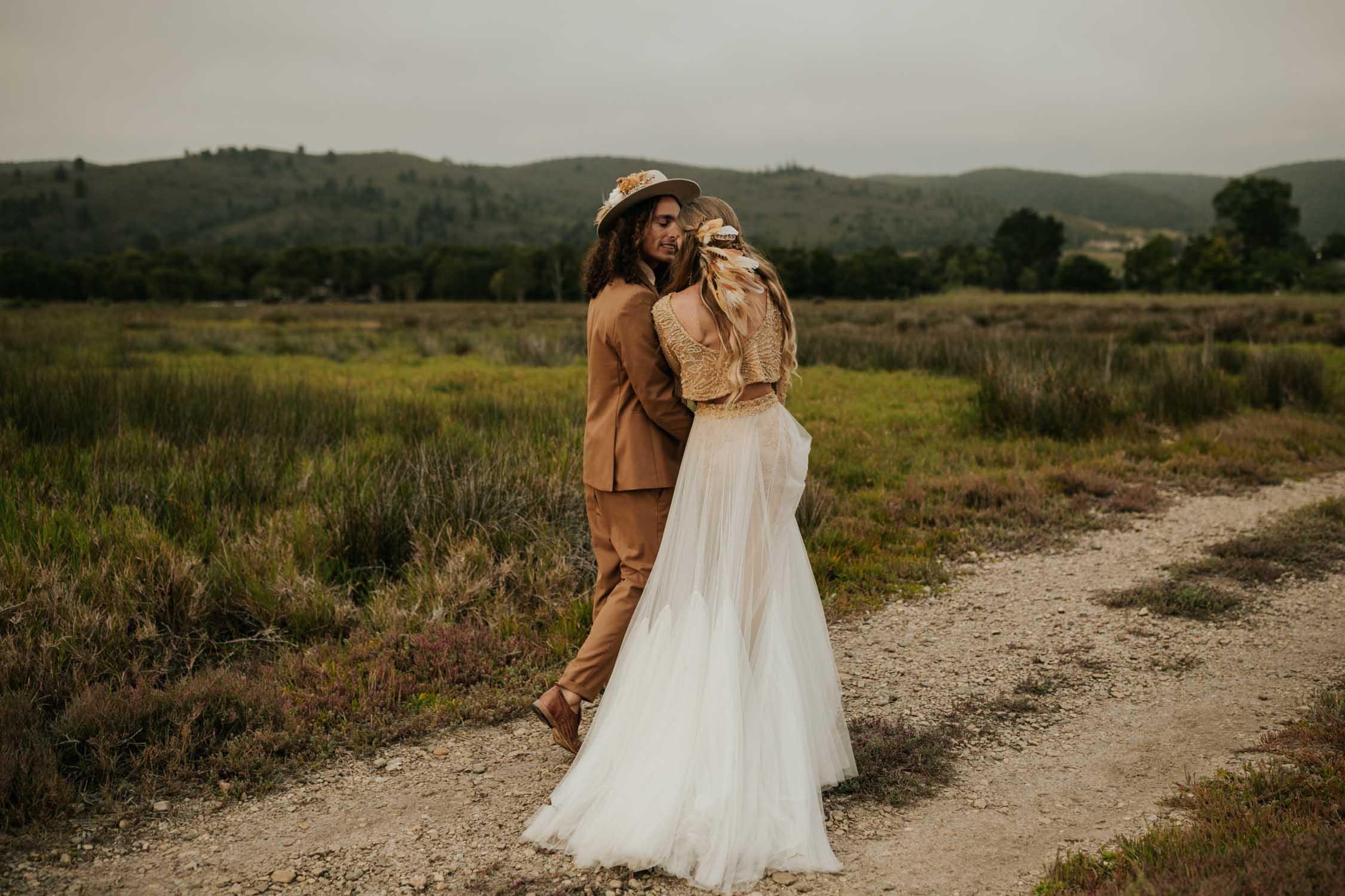 Best boho style Vancouver Wedding Photographer