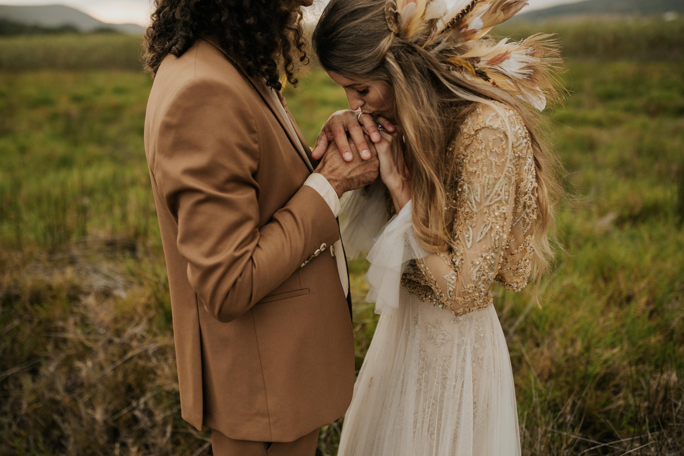 Intimate romantic candid Vancouver Wedding Photographer