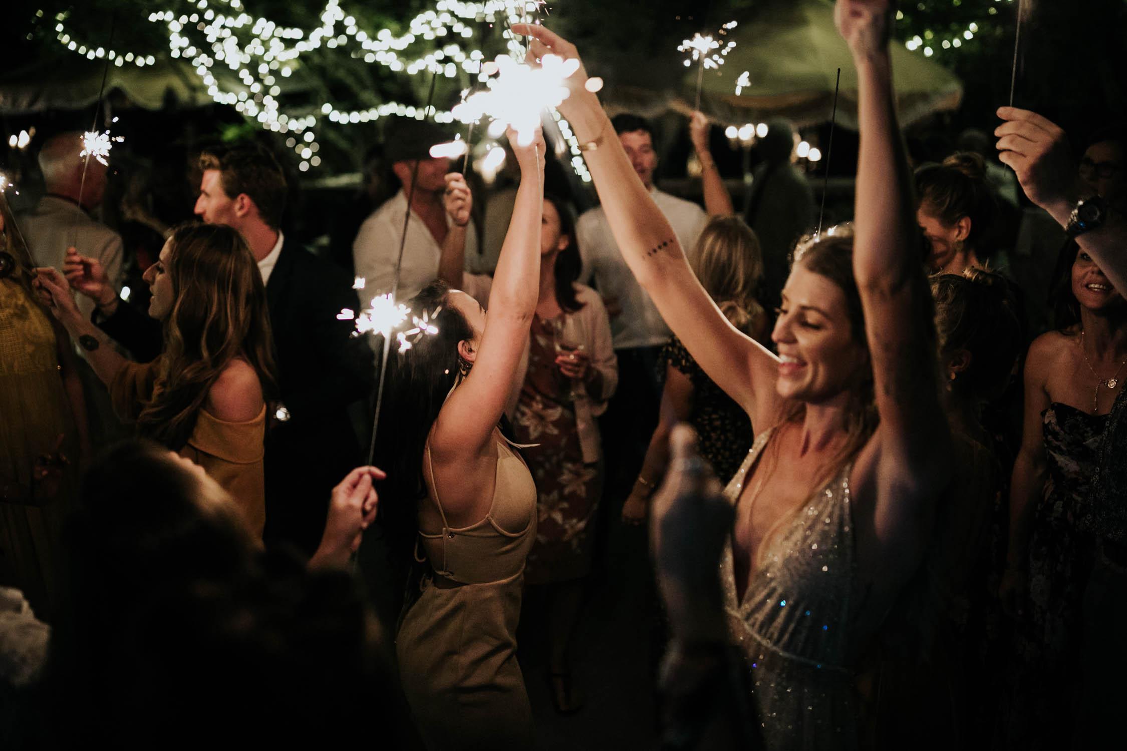 Sparklers on dance floor epic best wedding dancing photos