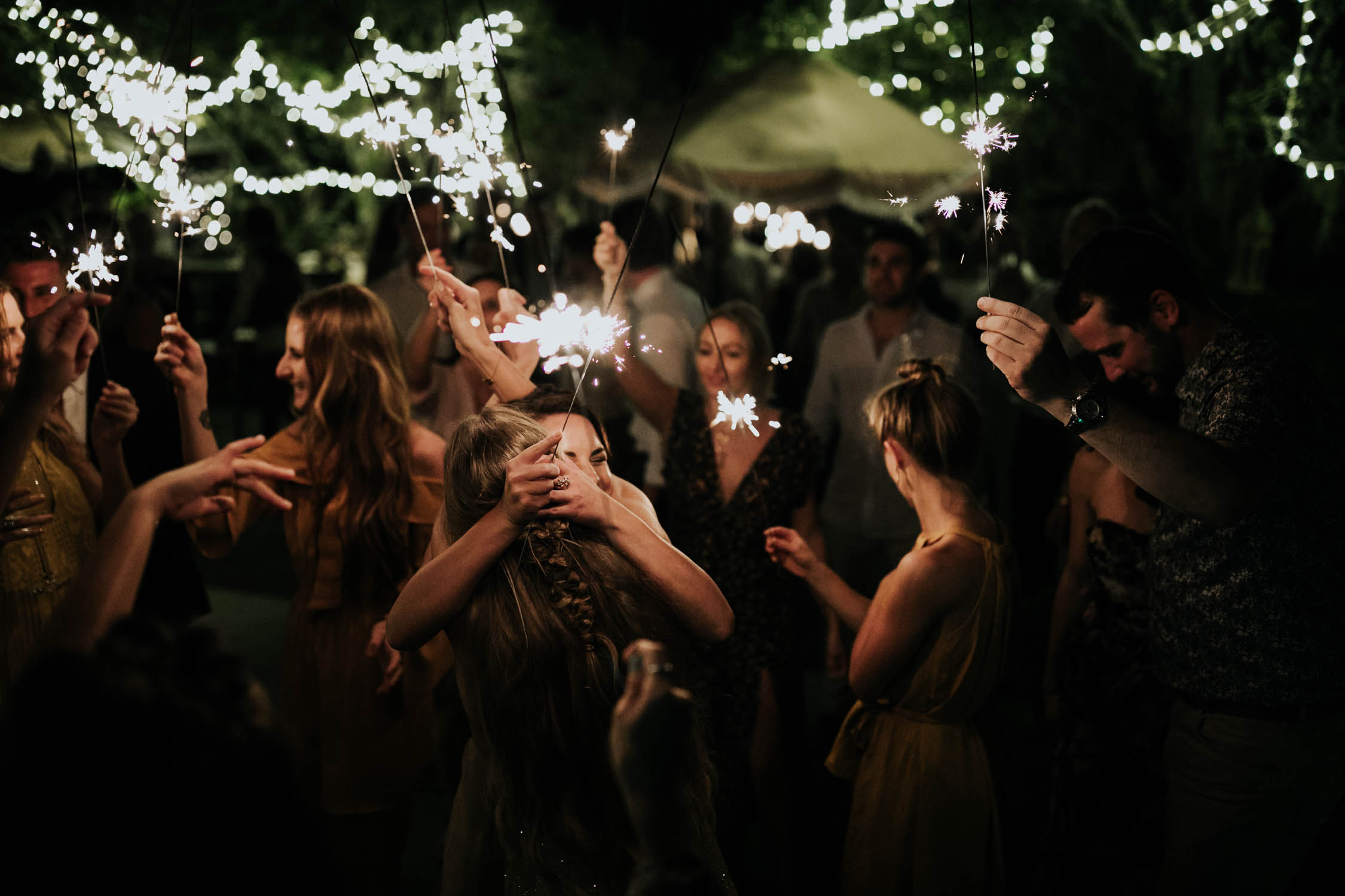 Sparklers on dance floor epic best wedding dancing photos