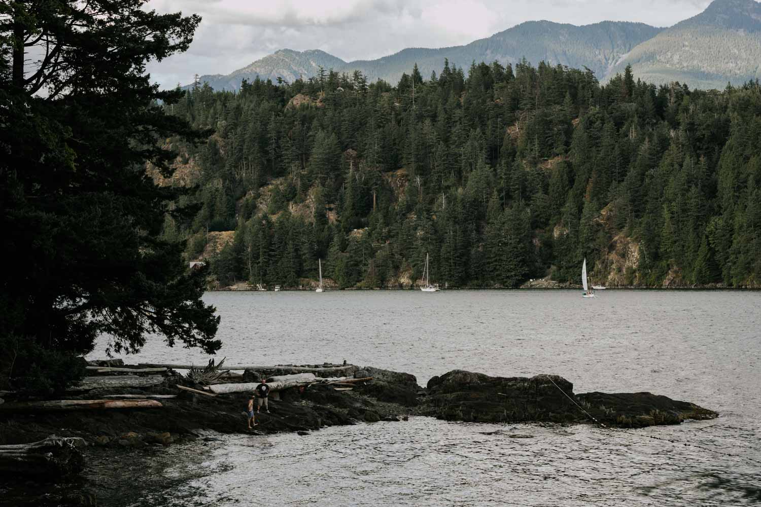 Gambier Island is one of the best places to elope in BC
