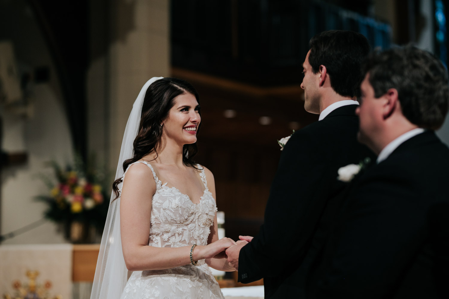 Christ Church Cathedral wedding in Vancouver