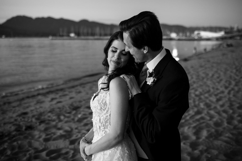 Jericho Beach wedding photos