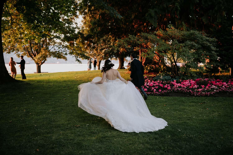 Best garden wedding venue in Vancouver Brock House
