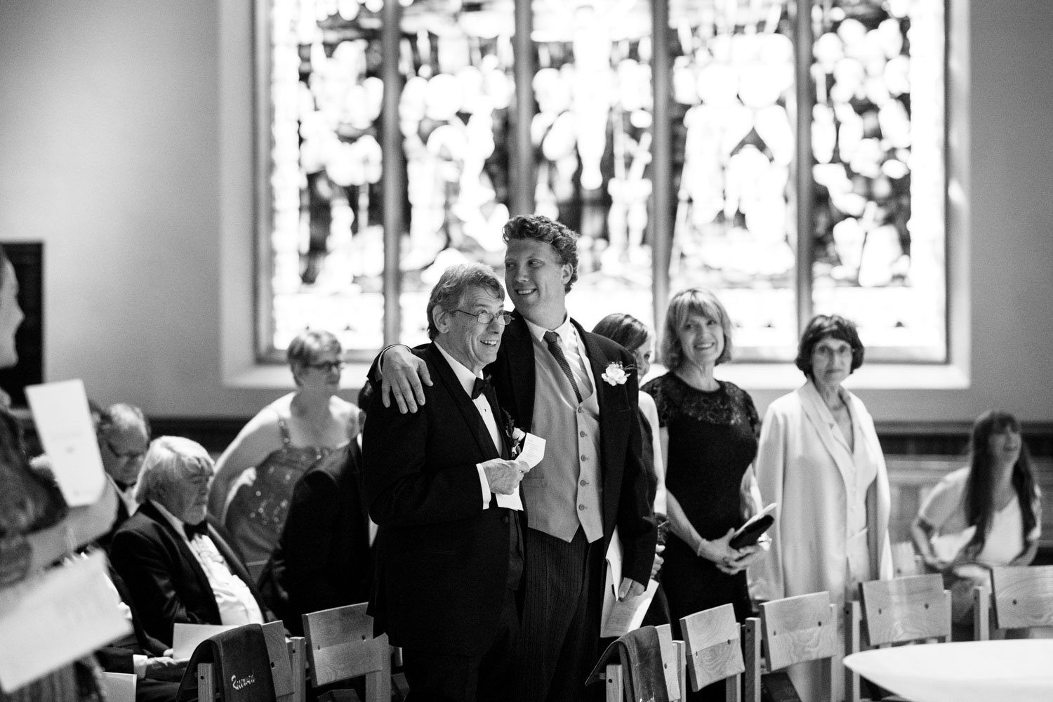 Wedding at Christ Church Cathedral in Vancouver