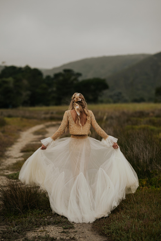 Boho Wedding Dress inspiration and ideas