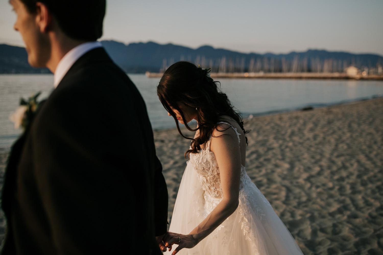 Jericho Beach Vancouver wedding photos