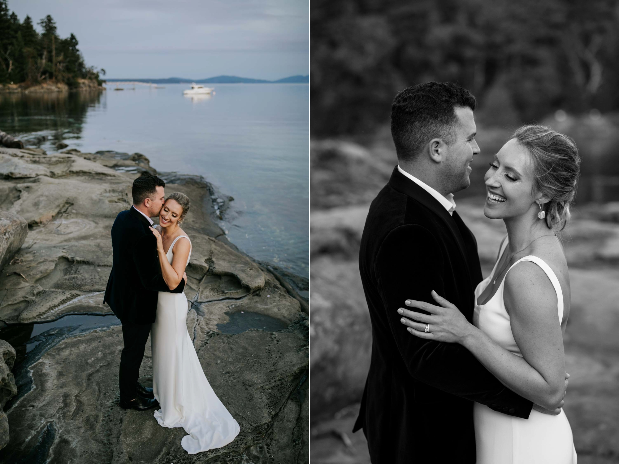 Natural Vancouver Island Wedding Photographer based in Victoria