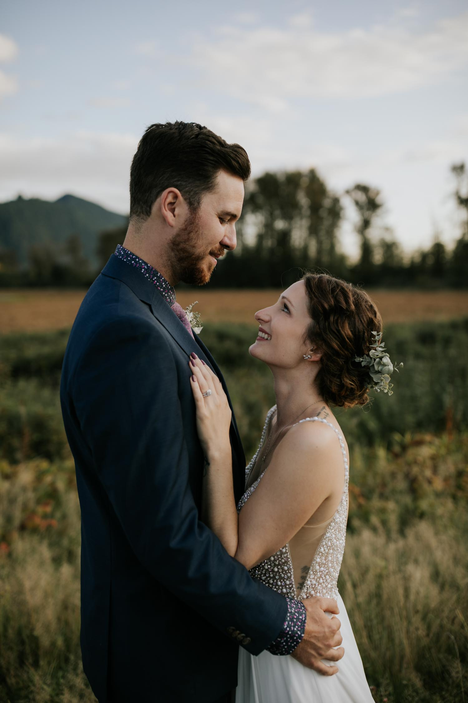Creative Vancouver wedding photographer