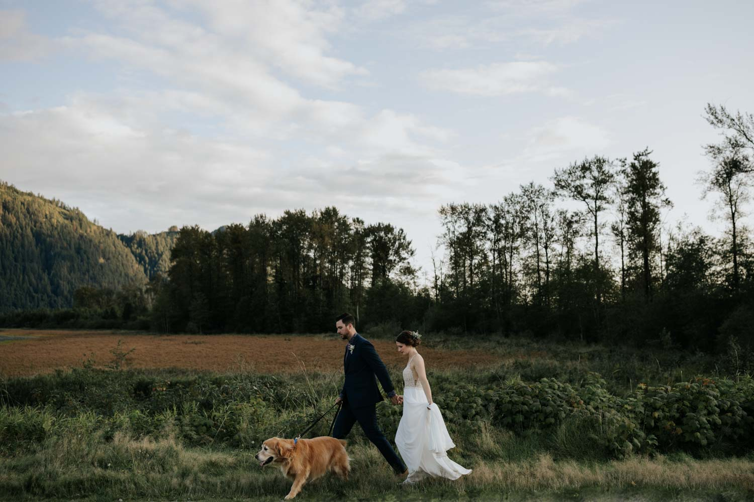 Golden Eagle Golf Club wedding photos