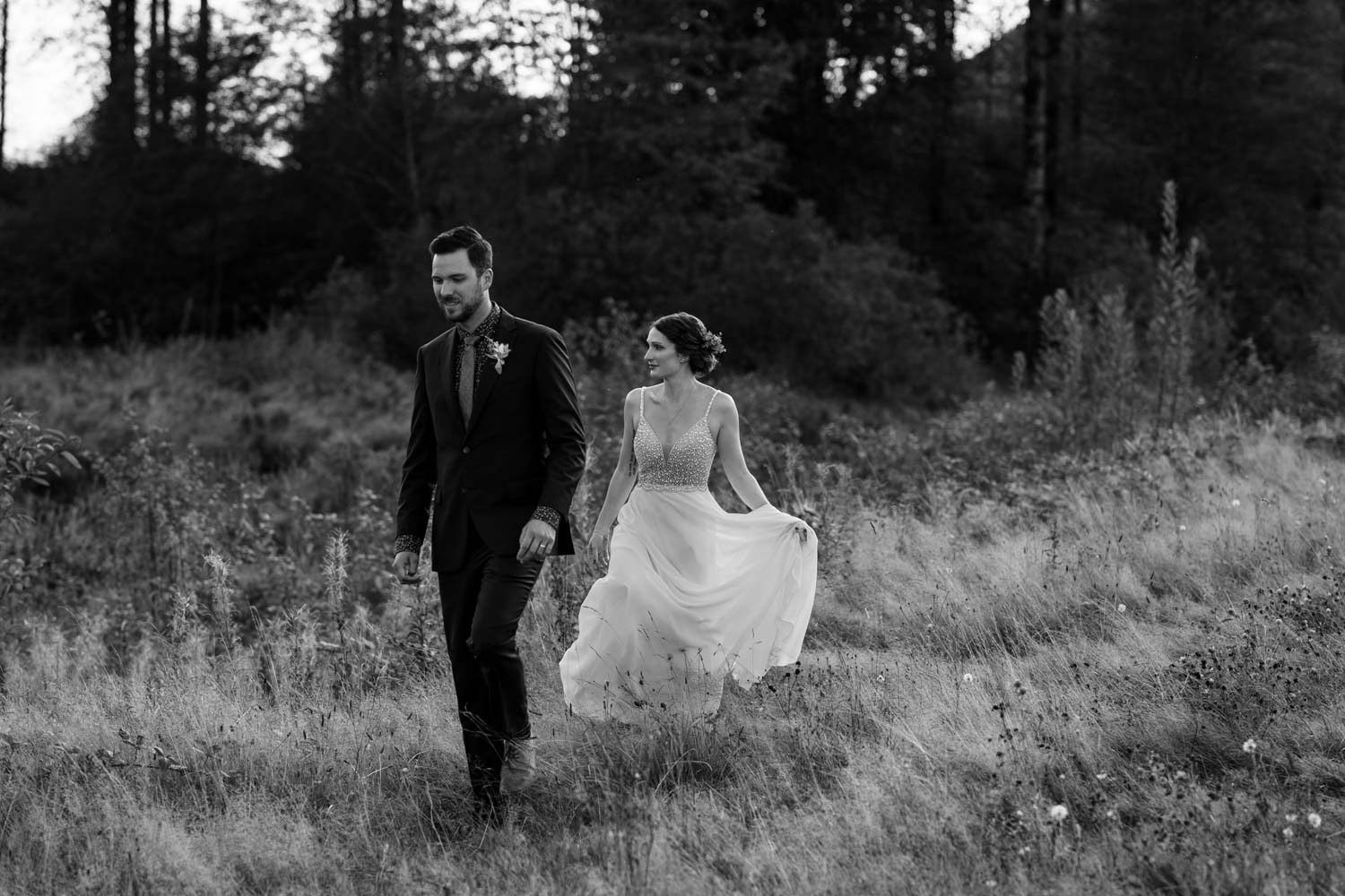 Cinematic Vancouver wedding photographer