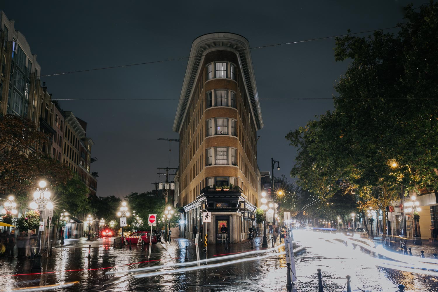 Hotel Europe, the Flatiron building of Vancouver Gastown