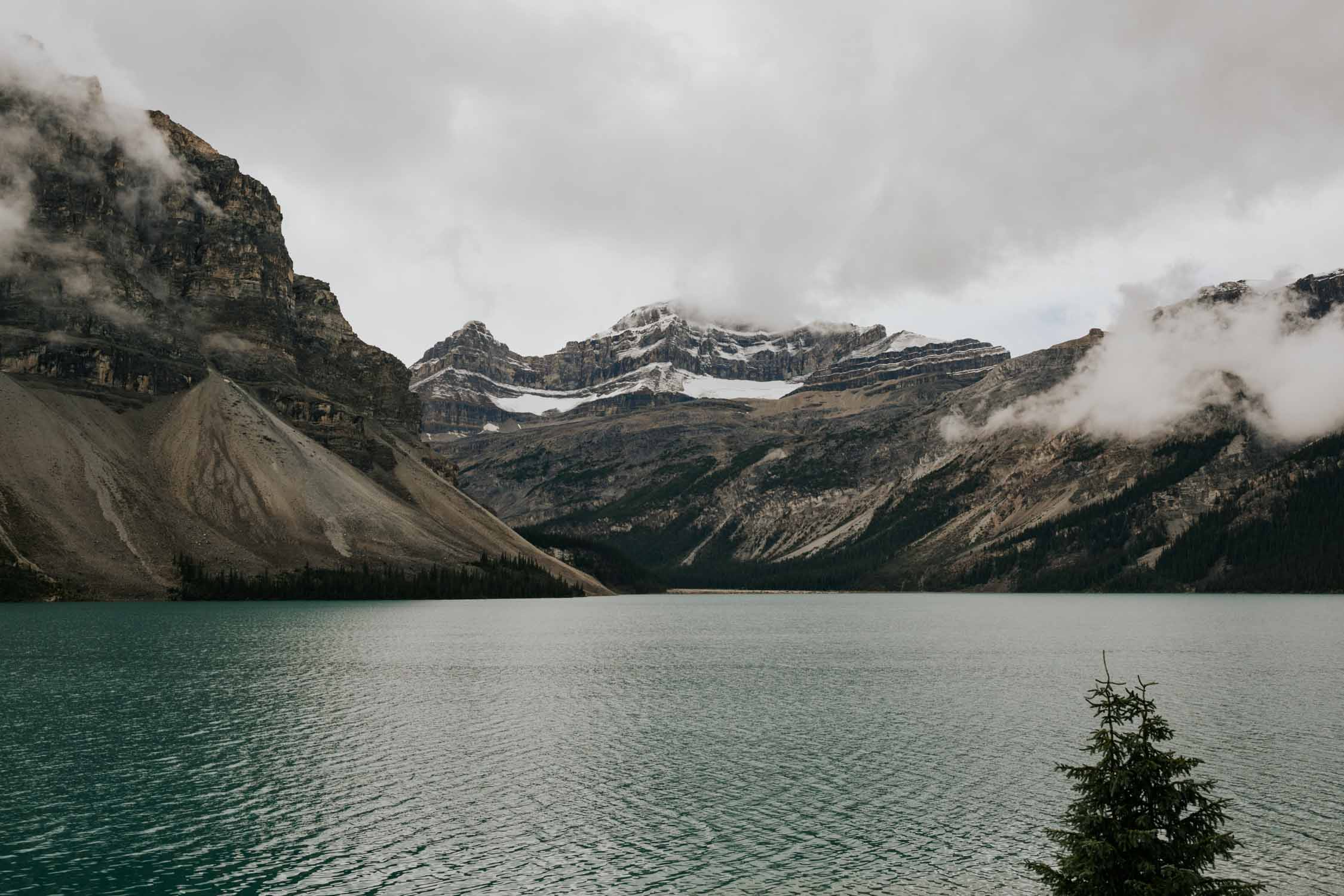 Bow Lake Elopement , Banff