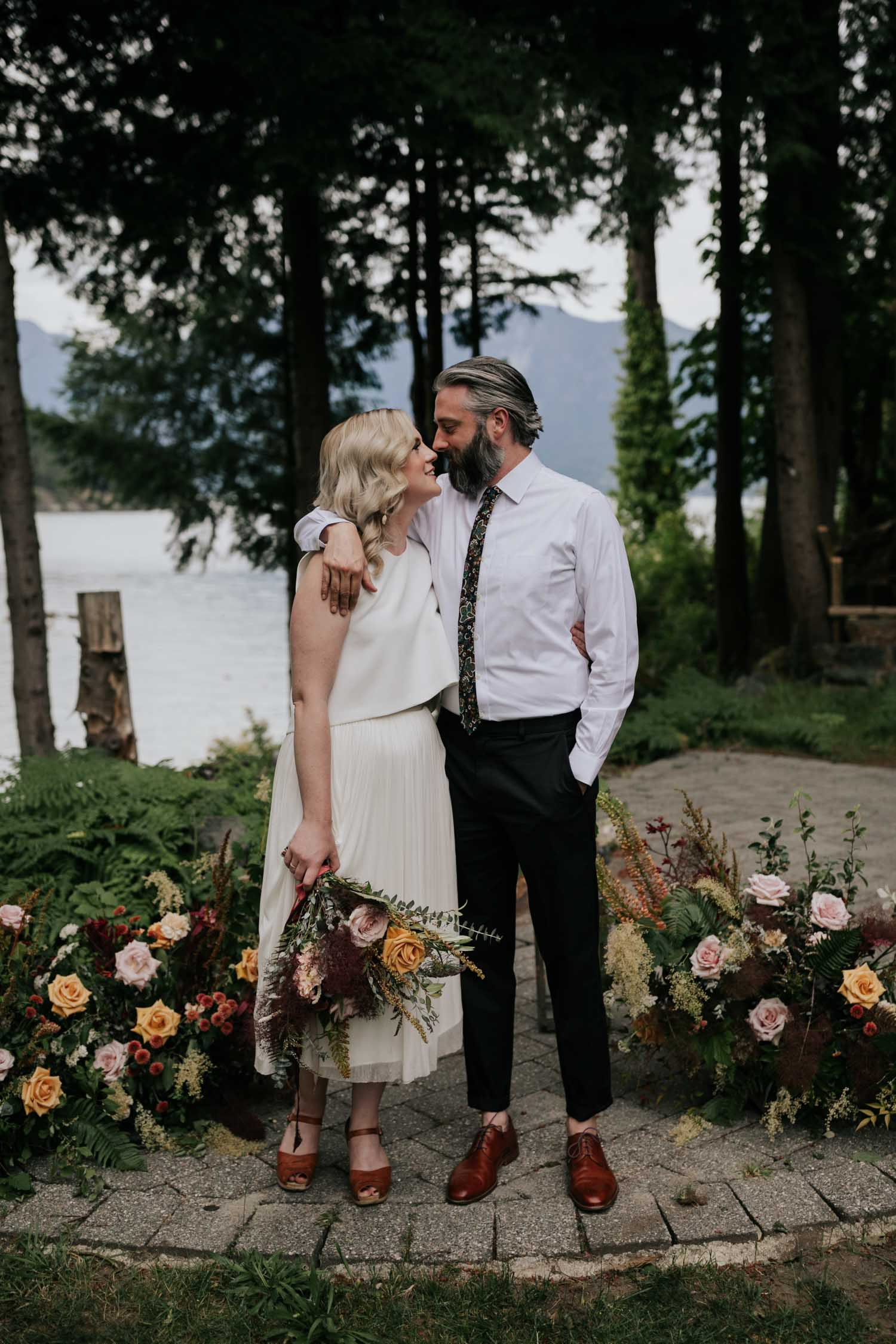 Bowen Island is one of the best places to elope in BC