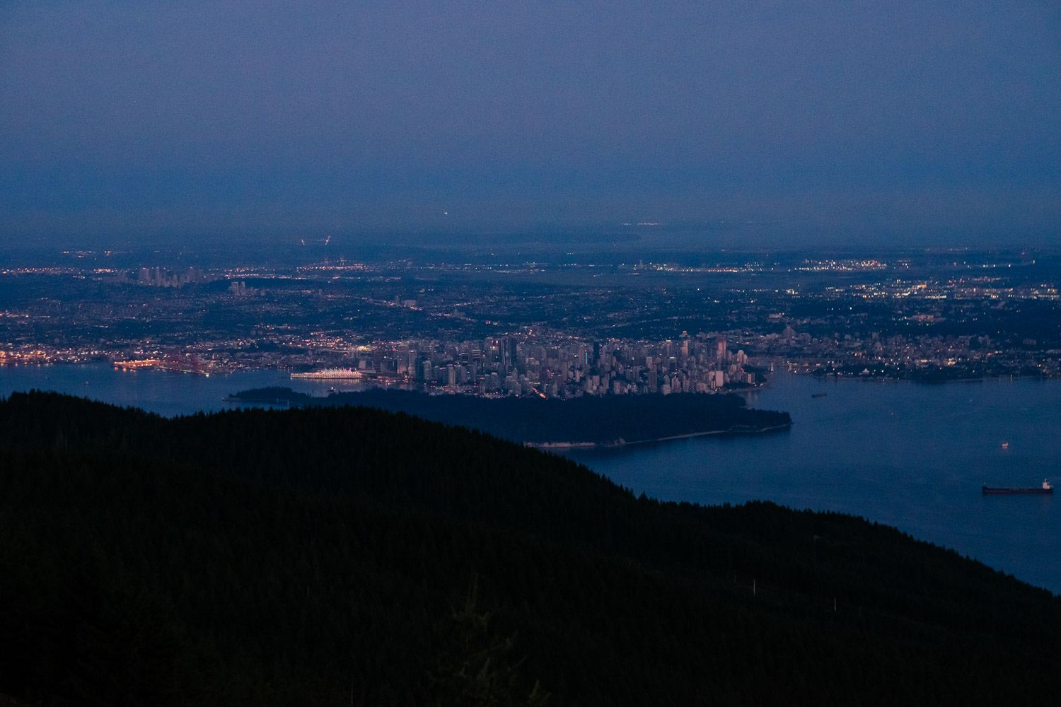 Eagle Bluffs Elopement View Vancouver