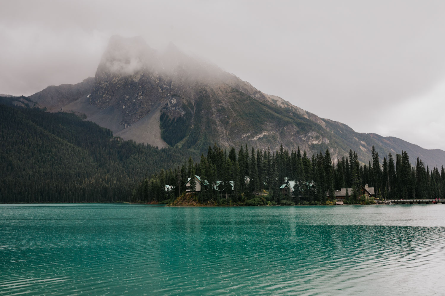 Emerald Lake Elopement Banff