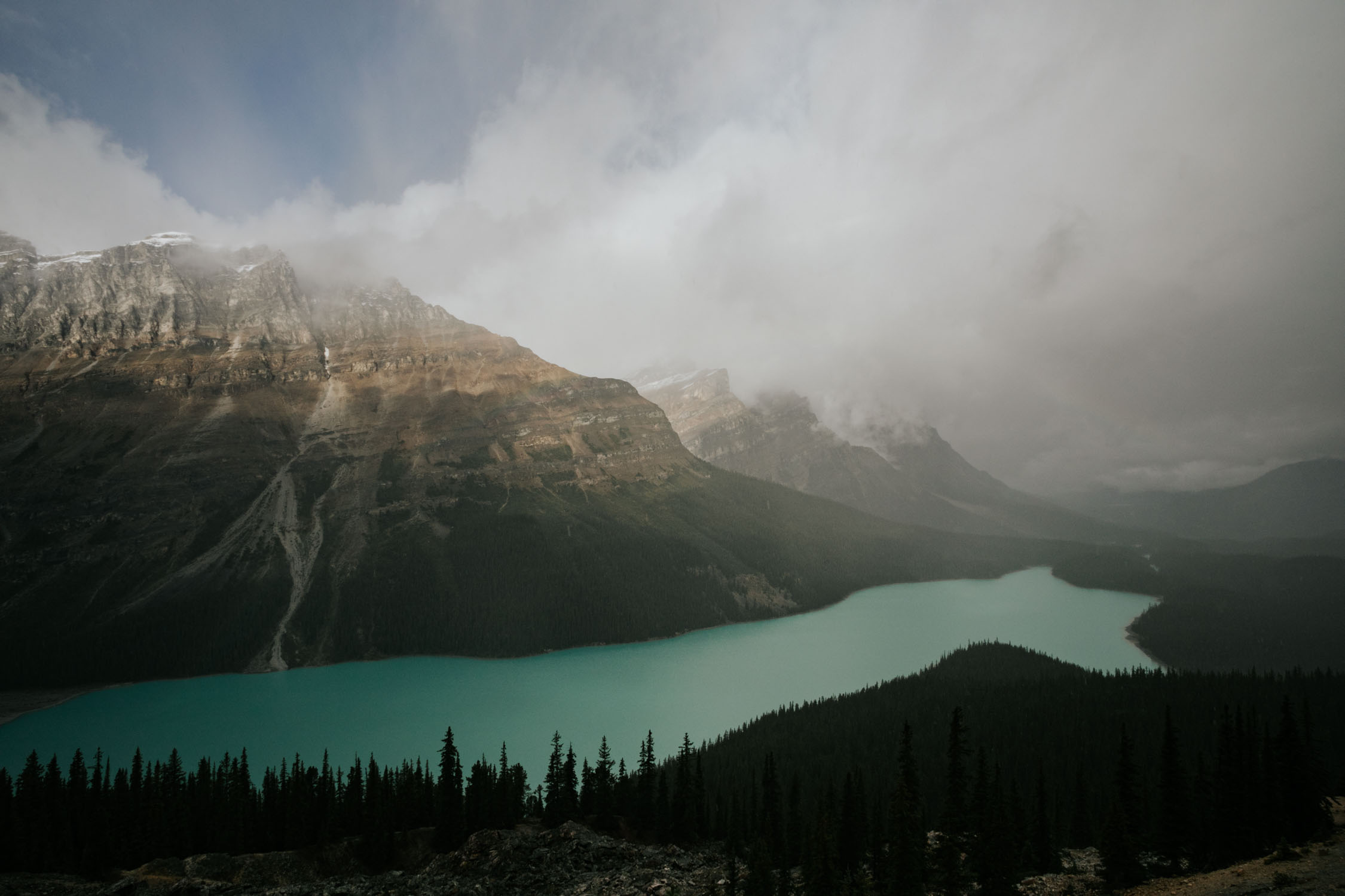 Peyto Lake Elopement Banff