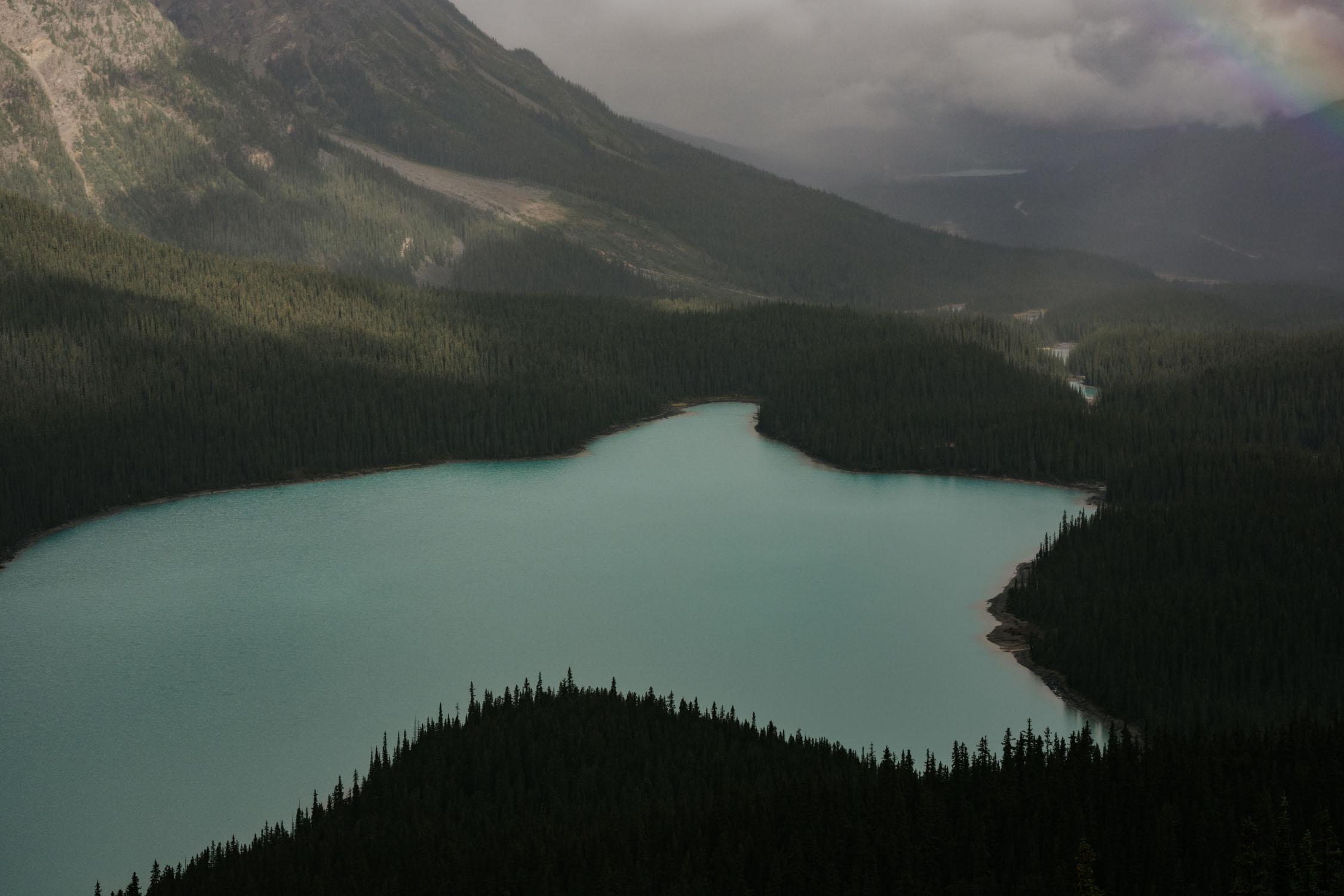 Peyto Lake Elopement Banff