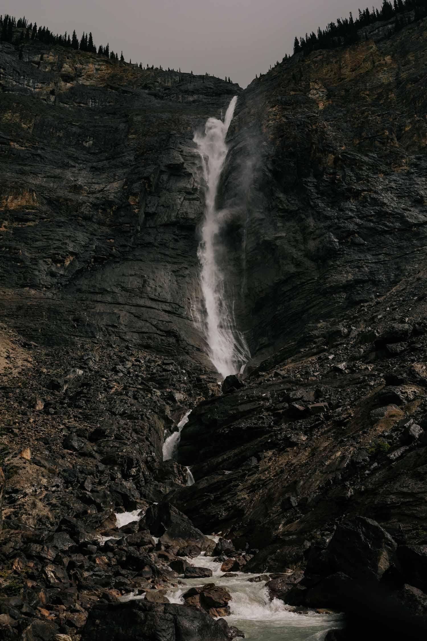 Takakkaw Falls Elopement