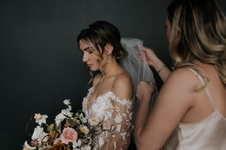 Amazing Embellished Bride veil