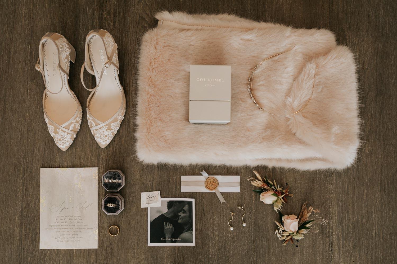 Flatlay Wedding Details